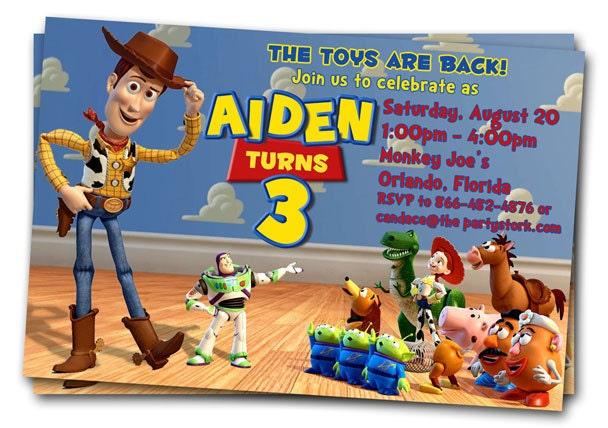 toy story birthday invitation wording