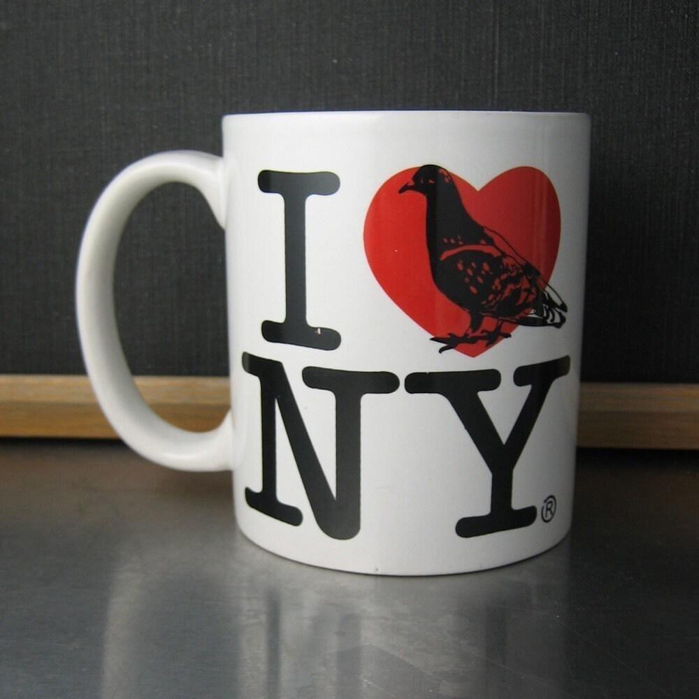 Rehabbed Souvenir Pigeon Mug