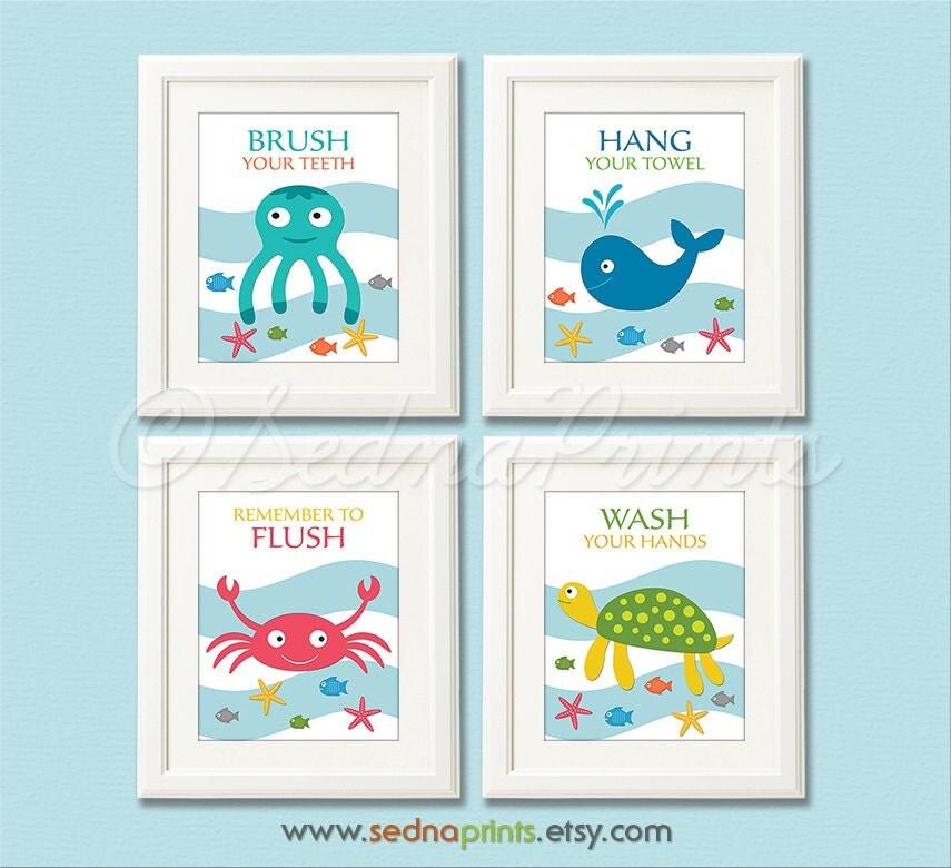 Interior Design Gallery Baby Bathroom Decor. Kids Bathroom Decor Fish