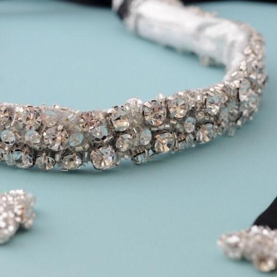 Bridal Belt Wedding Sash Encrusted With Swarovski Crystals