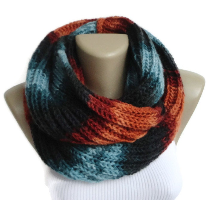 colorful infinity scarves mens scarf by senoaccessory