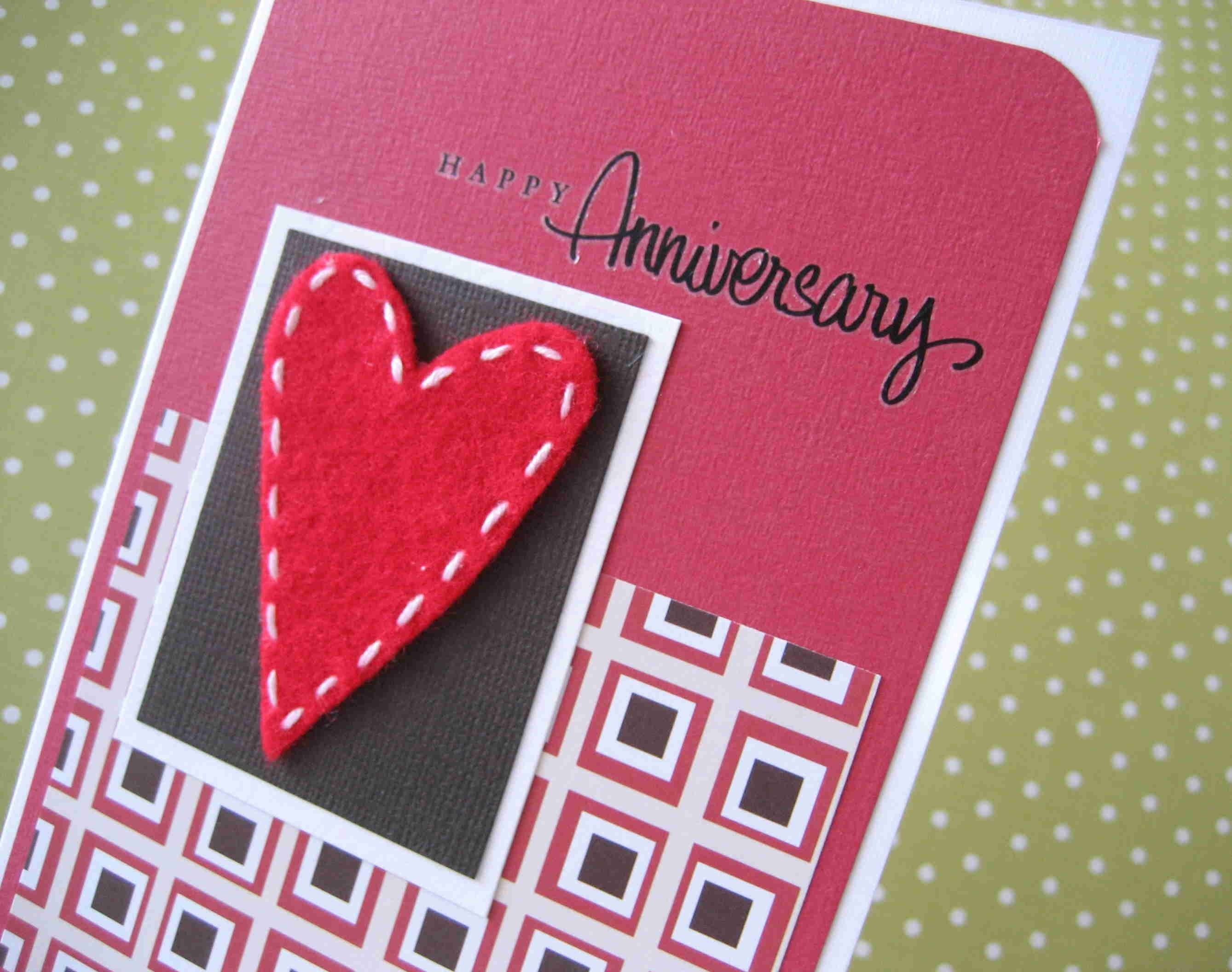 EtsyGreetings Handmade Cards: Happy Anniversary Card