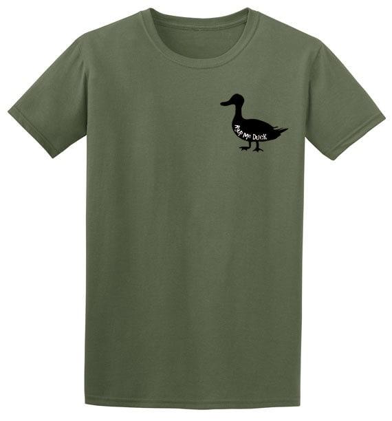 Mans duck tshirt funny t shirt slogan bird watcher tshirt farm gifts funny shirts for men novelty t shirts gifts for dad cool t shirt