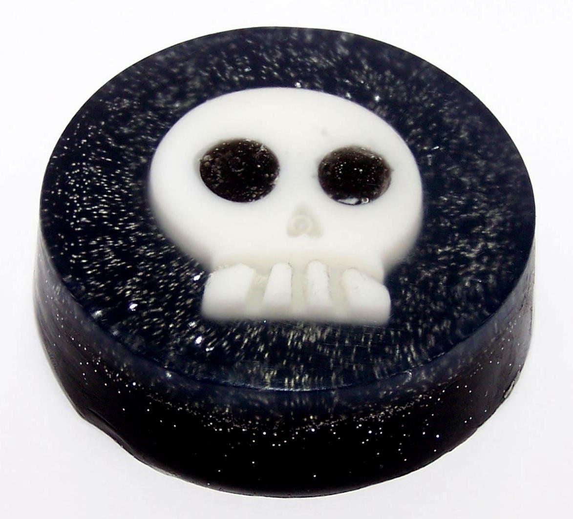 Sparkly Skull Soap