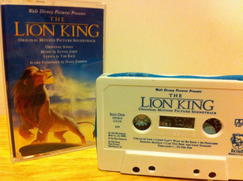 disney lion king original soundtrack zippered by lalalauren29