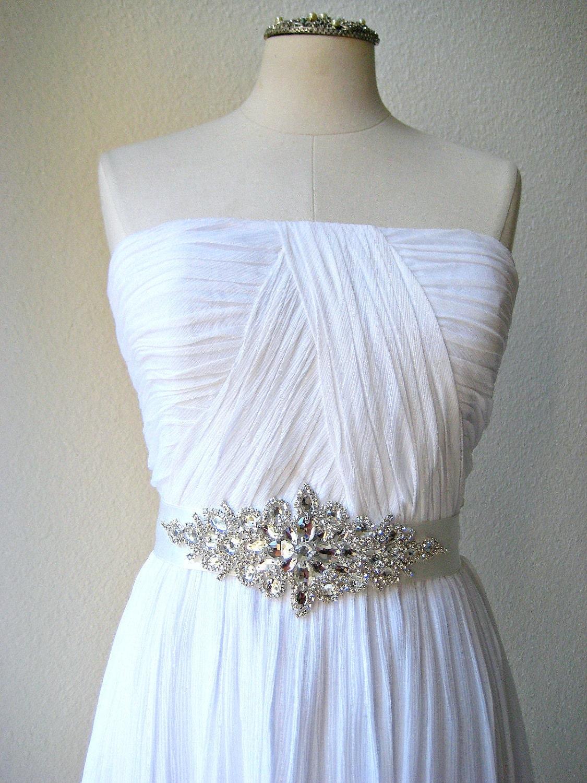 Help me find Allure crystal sash wedding sash belt accessories Il 570xN
