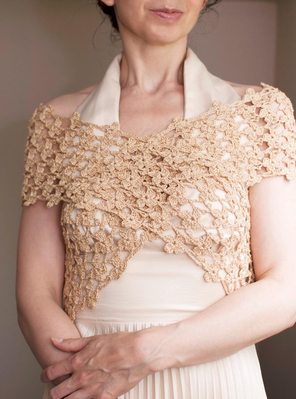 Flower Lace Shawl Crochet Pattern Favecrafts : Lacy Shawl Crochet Lace Scarf Summer Shawl Floral Lace ...