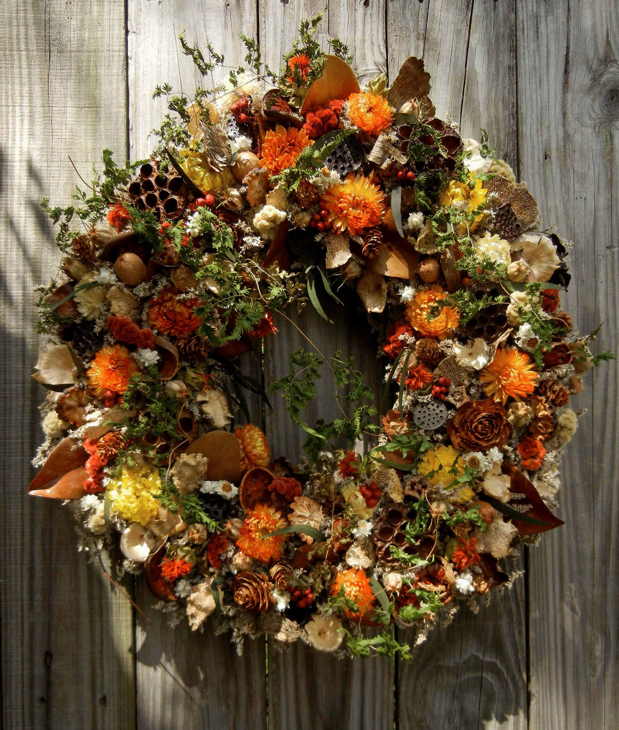 Natural Woodland Wreath | forevermore1 | Pinterest Picks - Fall Wreaths
