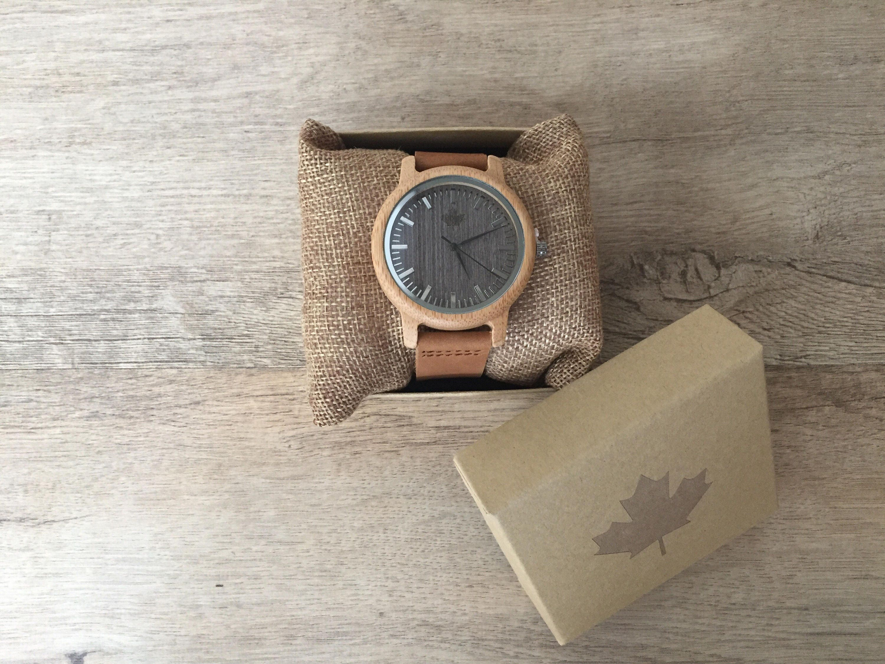 Luna  Gents Wooden watches from TheWoodCraft. Mens Wood watches groomsmen gift wood watch wooden gift gifts for him.  Uk based.