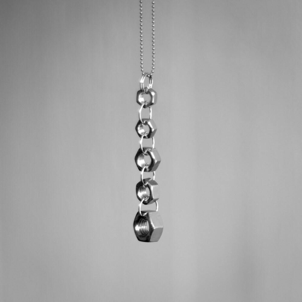 GOING NUTS / 3, necklace by Miia Magia Design