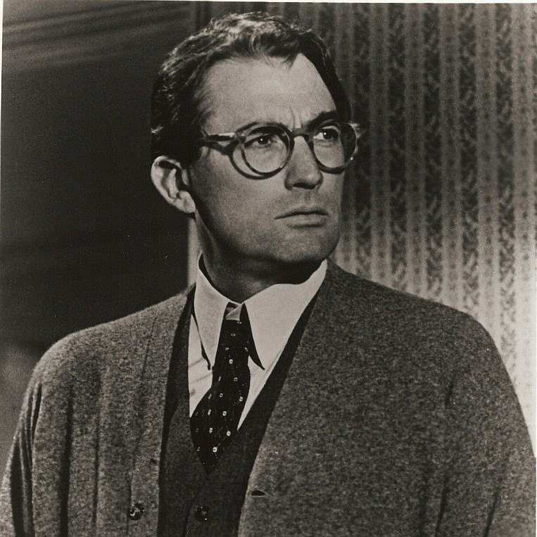Vintage Movie Still - Gregory Peck - To Kill A Mockingbird   8 x 10