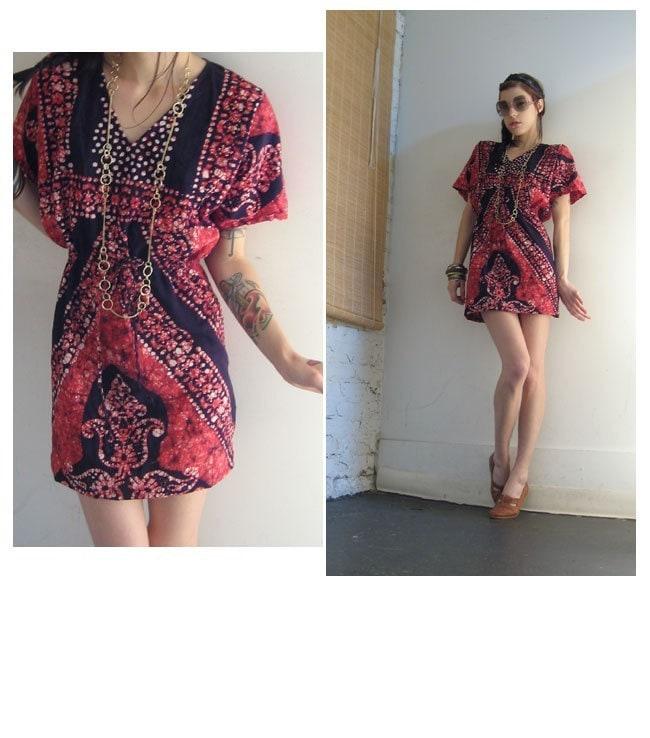 Desain Baju Batik Unik: Unik Batik Model Mini Dress : Kumpulan Artikel