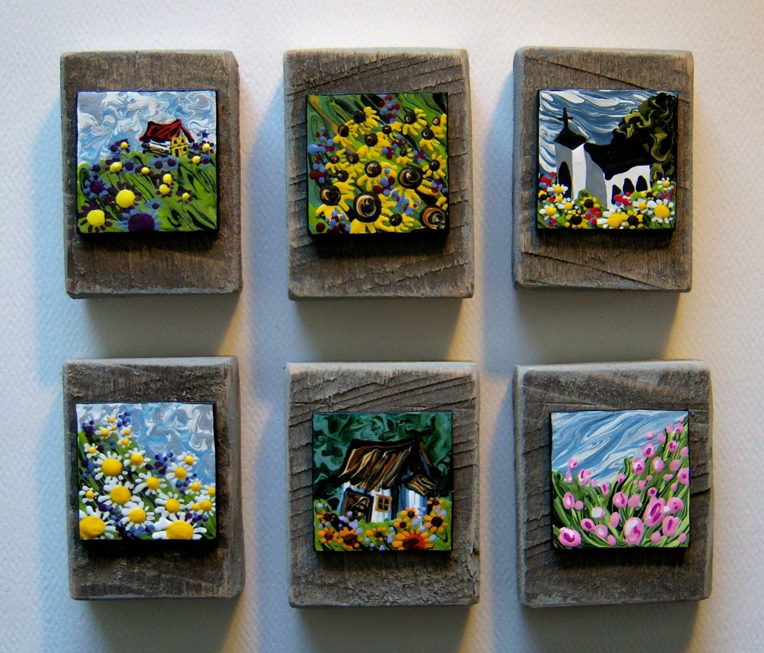 Six Miniature Paintings