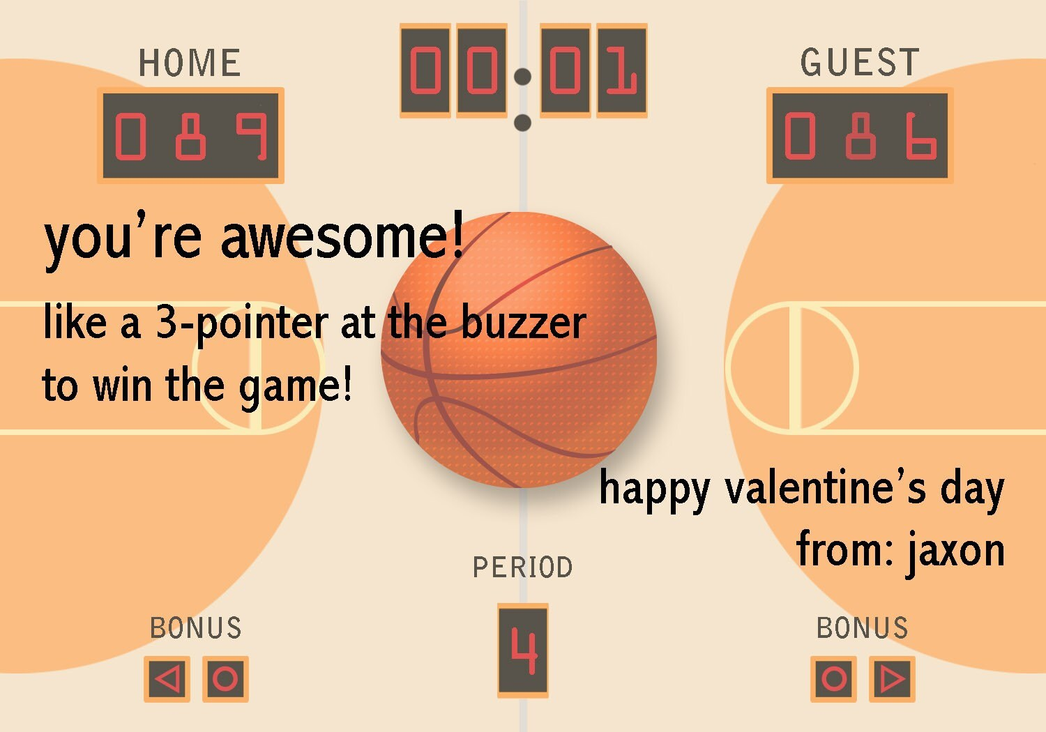 Happy Valentine S Day Basketball Pictures to Pin – Basketball Valentine Cards