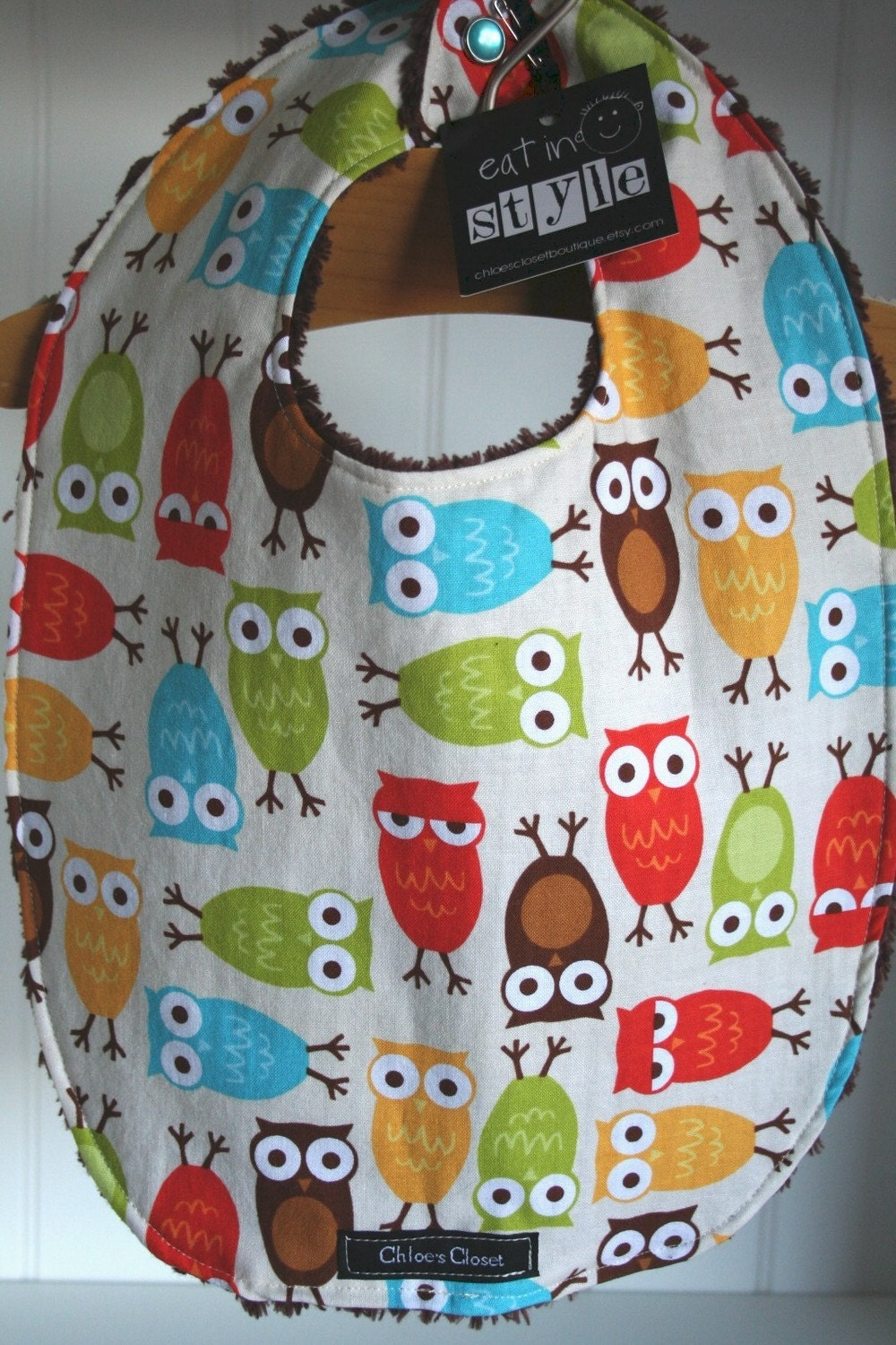 Urban Owls...fall...bib