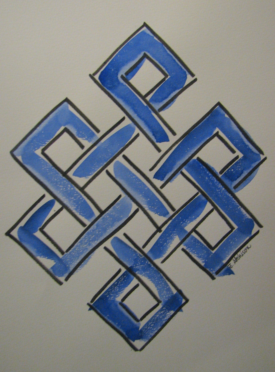 buddhist endless knot symbol
