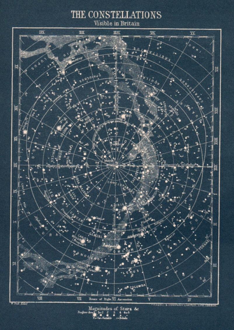 astronomy star charts night sky - photo #31