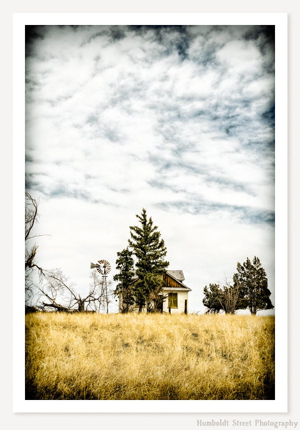 Hideaway - Old Farm House Photograph - Abandoned House Photo - Rustic Farmhouse Decor  - Colorado Art - HumboldtStreet