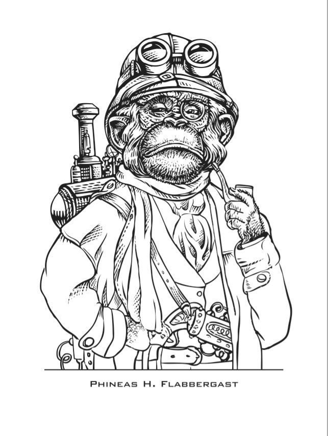 Free Coloring Pages Of Monkey Quest