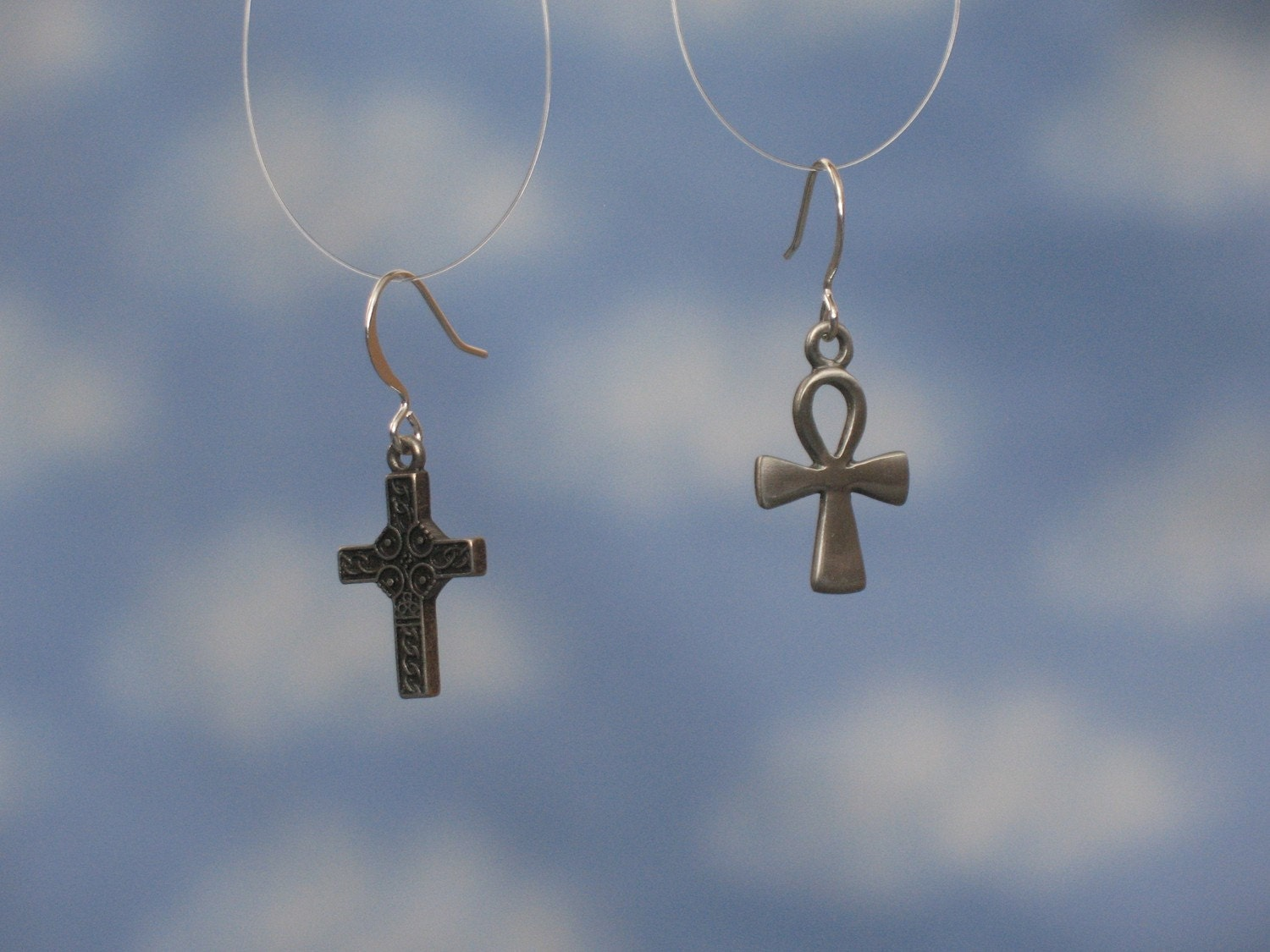 cross and ankh