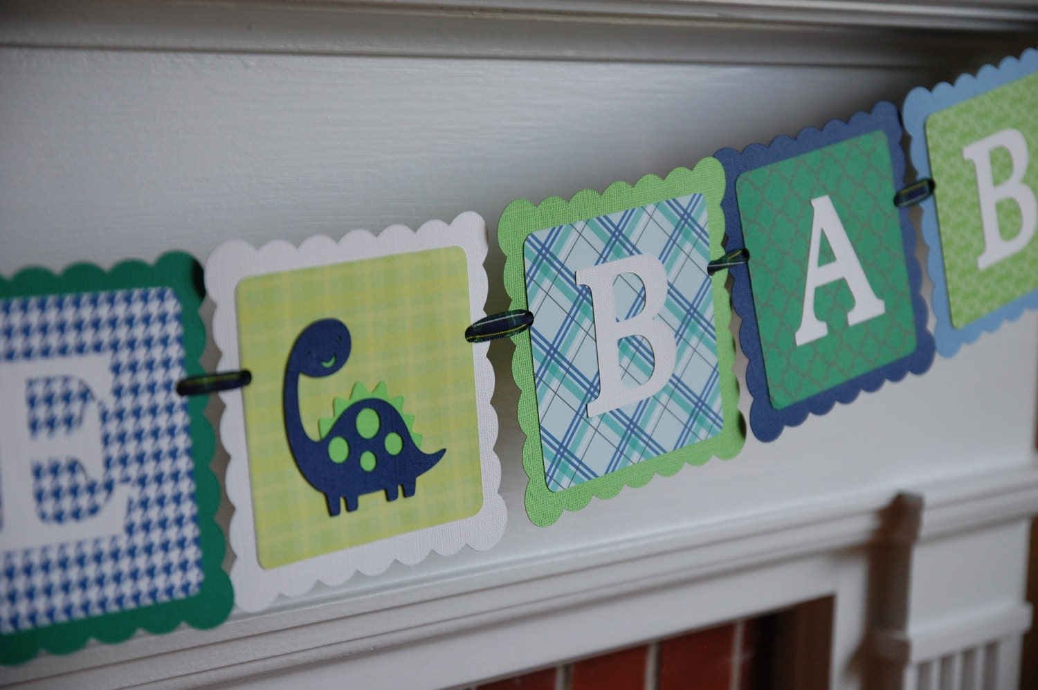 Dinosaur Welcome Baby Banner, Popular Items For Dinosaur Decorations On Etsy