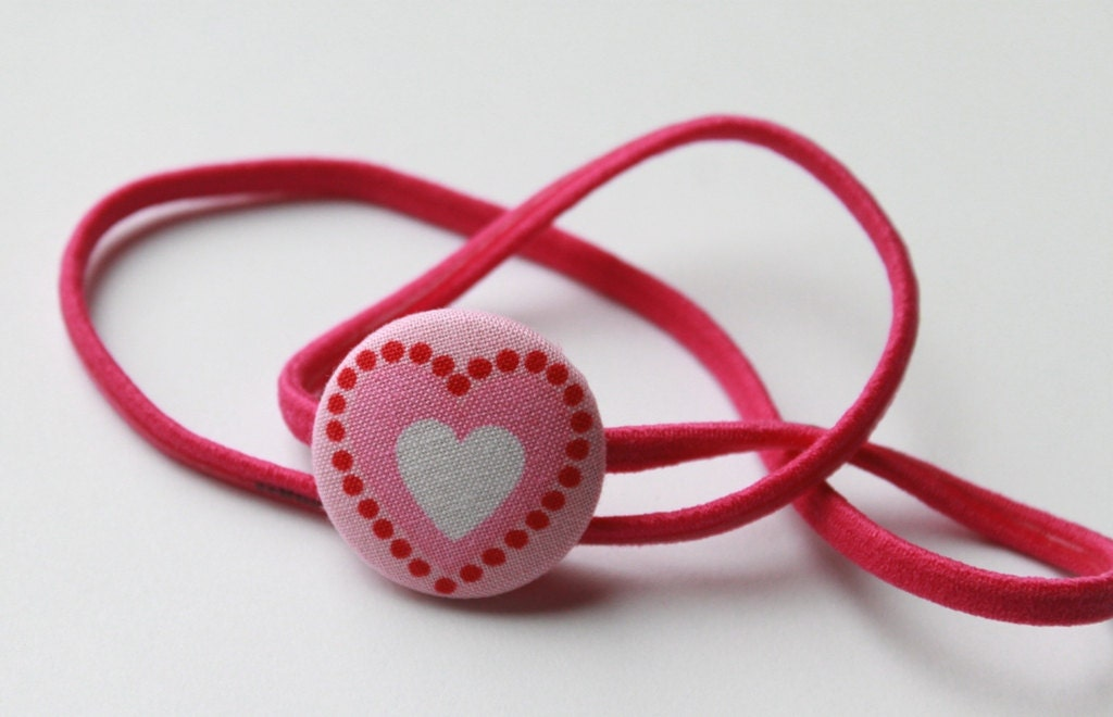 VALENTINE Heart--HEADBAND - CuckooBoo