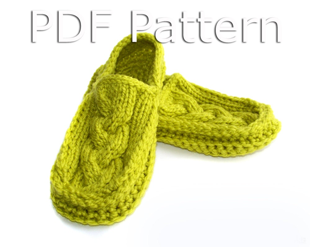Knitted Moccasin Slippers Pattern : Crochet Slippers Pattern Knitted Slippers Pattern by natalya1905