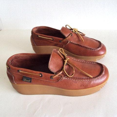 Bass Shoes Women S Platform Moccasin  S