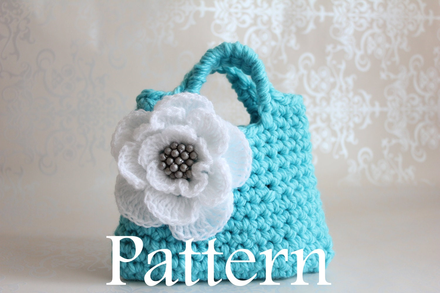 Little Girls Purse PDF crochet pattern by littlegirlsboutique