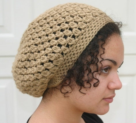 Crochet Patterns Slouchy Beanie : PATTERN - Kelechi Crochet Slouchy Beanie PATTERN - Slouchy hat pattern ...