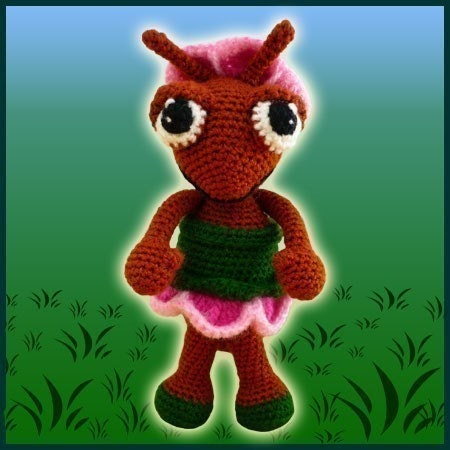 Abby, The Ant - Amigurumi Pattern