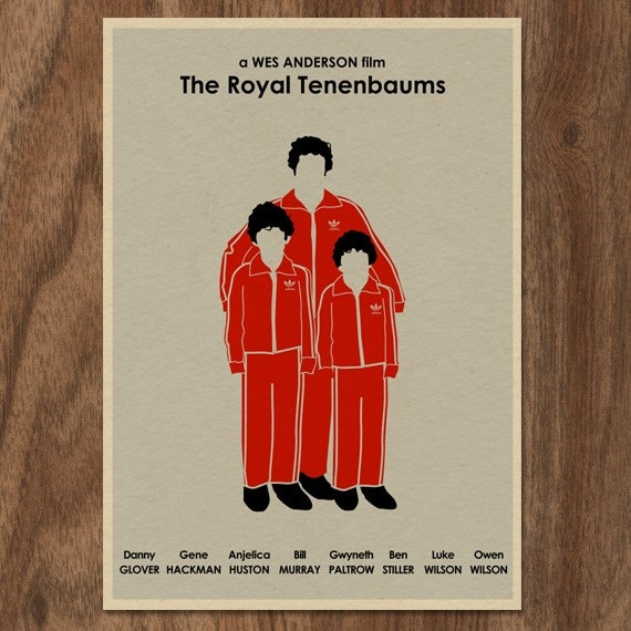 movie poster the royal tenenbaums 16x12 print by