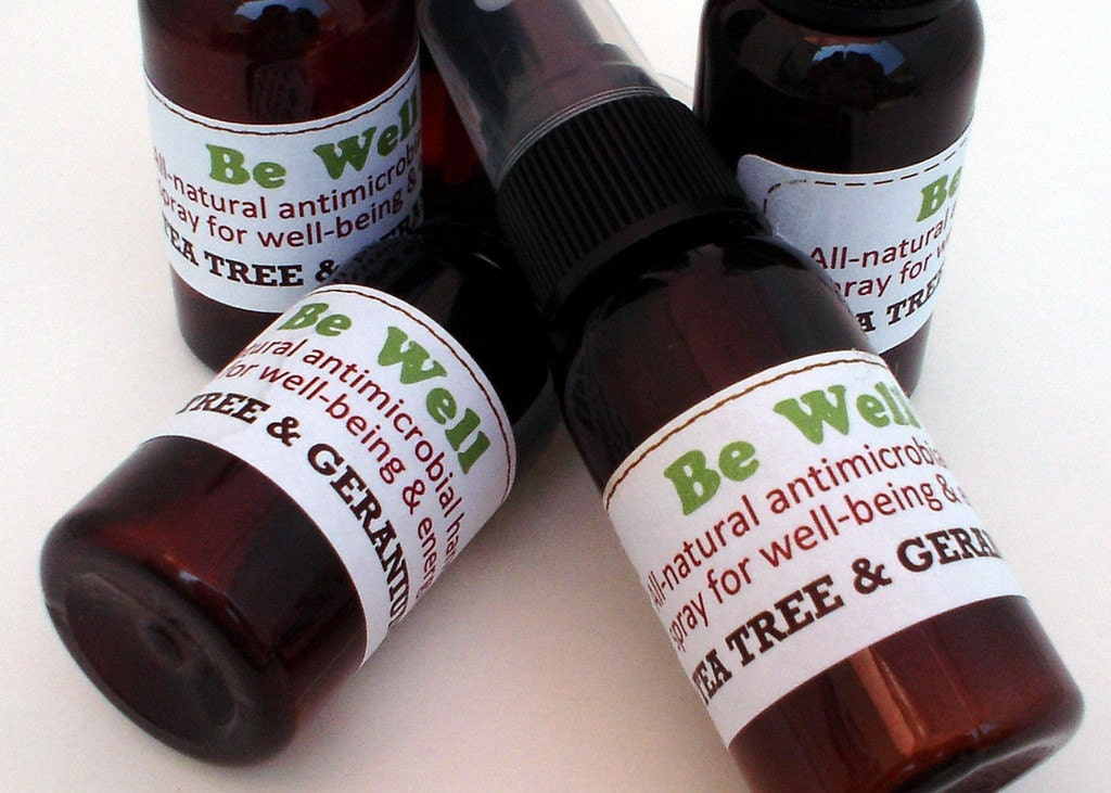 Be Well All-Natural Scented Spray