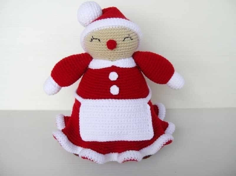 Crochet Pattern - MRS CLAUS - Toys / PDF / Christmas