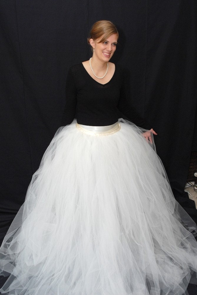 Events by tammy diy for How to make a tulle wedding dress