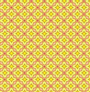 SALE- Bijoux Tiled Primrose Rose  by Heather Bailey- 1 Yard Quilt Fabric