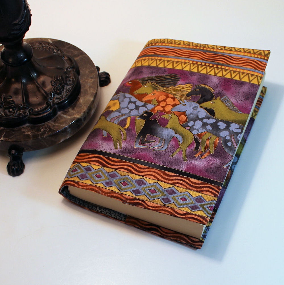 Large Cloth Book Covers : Fabric paperback book cover laurel burch by quiltsewcover