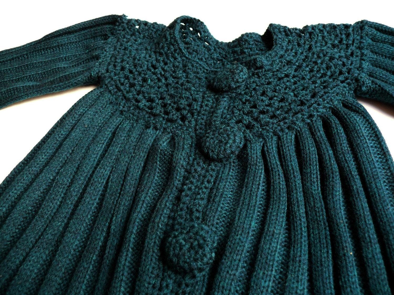 کت شیک برای دختر بچه knitted