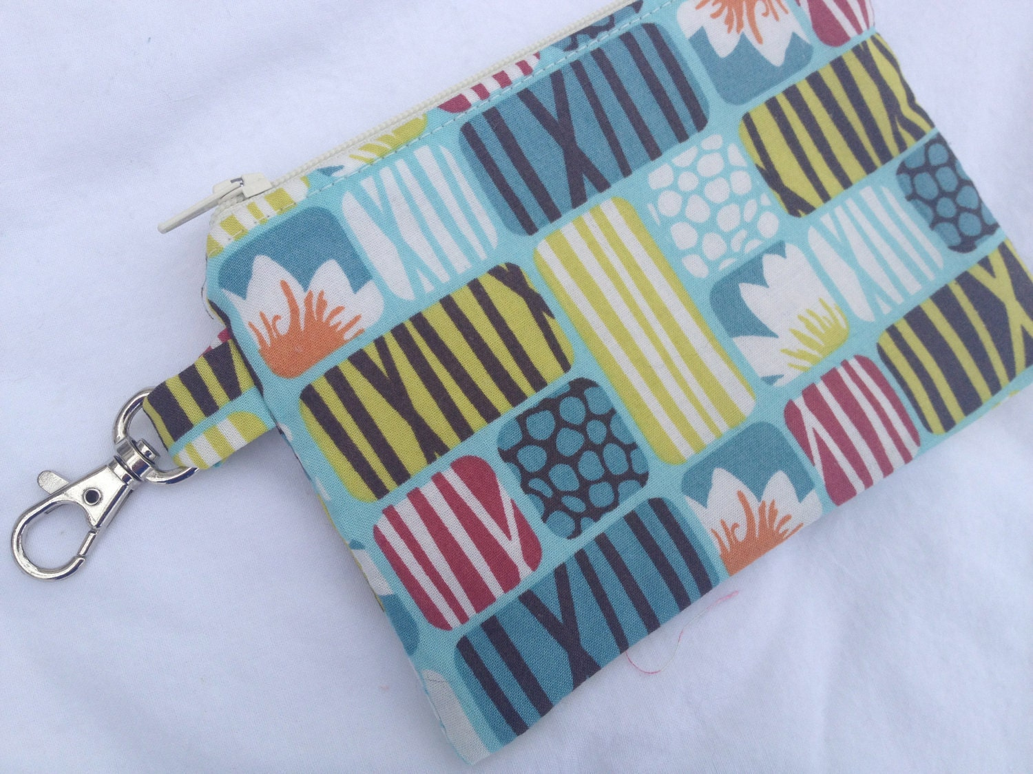 Lotus Flower Small Zippered Pouch