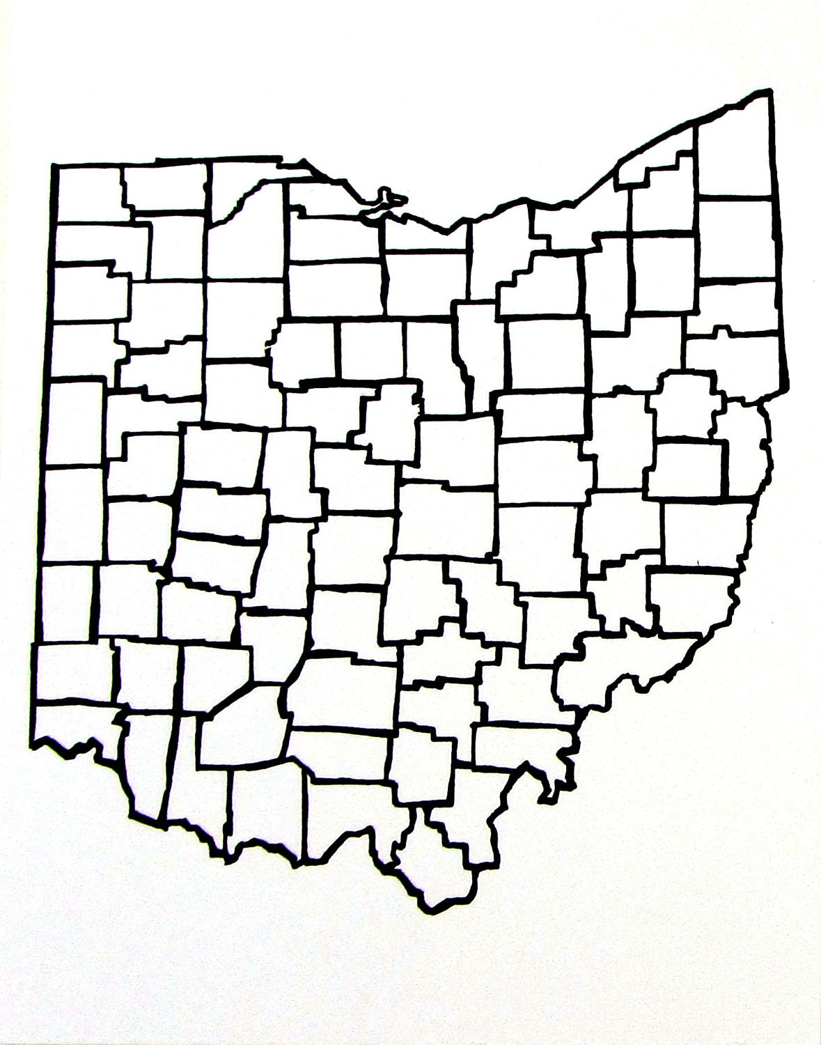 ohio state outline coloring page sketch coloring page