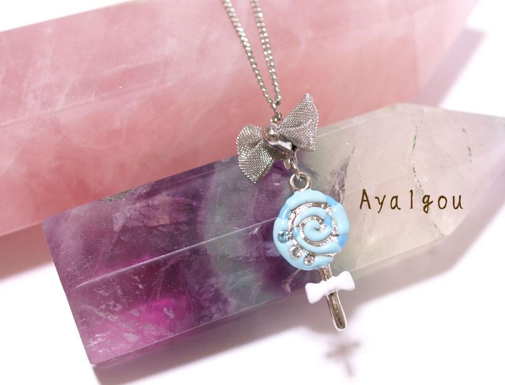 Lolita lollipop pendant necklace