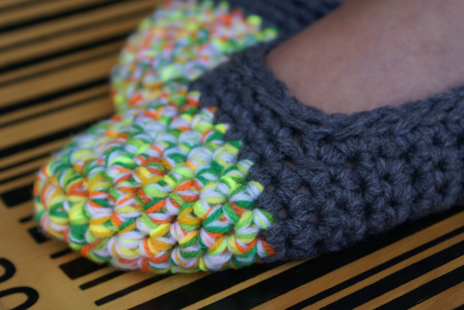 Tutorial update: crocheted baby shoes | Baby and Wool