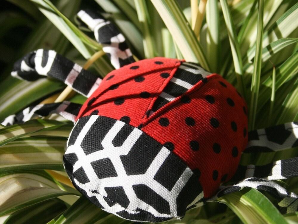 Little Lady Bug Dog Toy