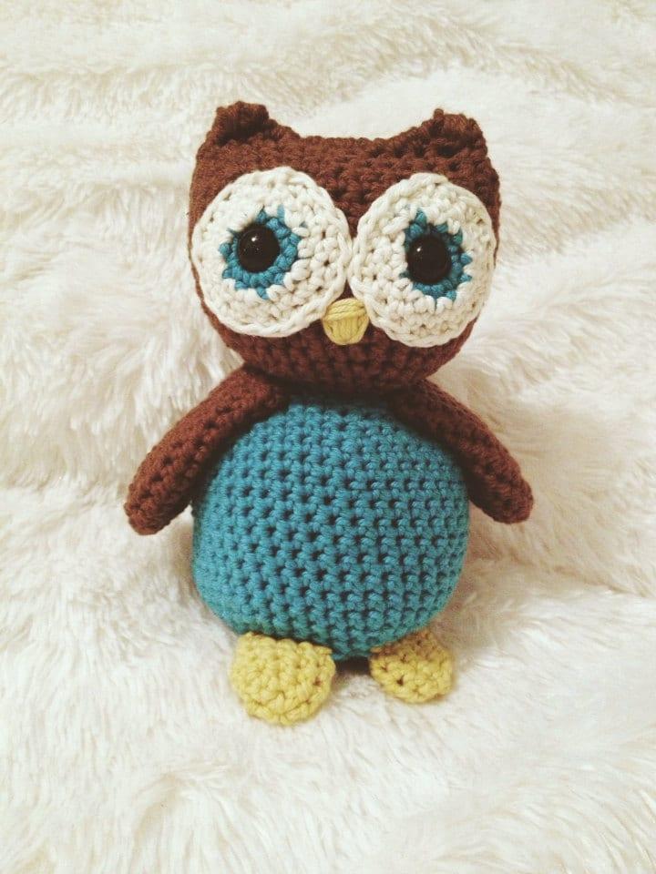 Amigurumi Owl Beak : Owl Crochet Doll (Amigurumi)
