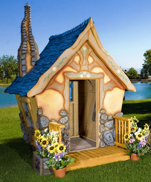 Storybook Cottage Playhouse - MonsterCityStudios