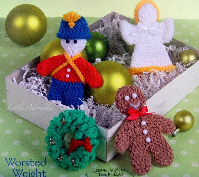 Crochet Christmas Ornaments : Crochet Christmas Ornaments Pattern Crochet Guild