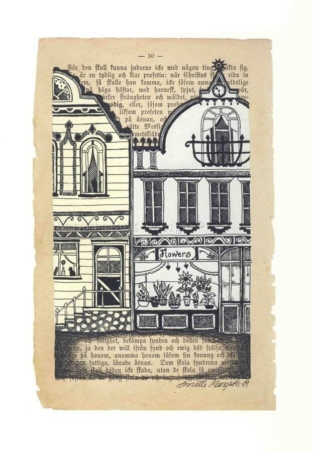 Flower shop - Print