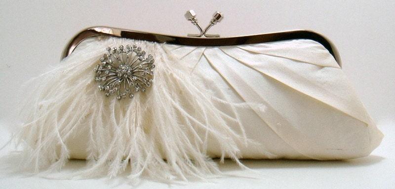 Something Ivory Bridal Clutch