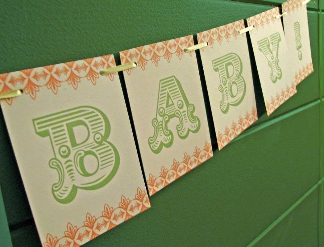 Welcome Baby Party Banner