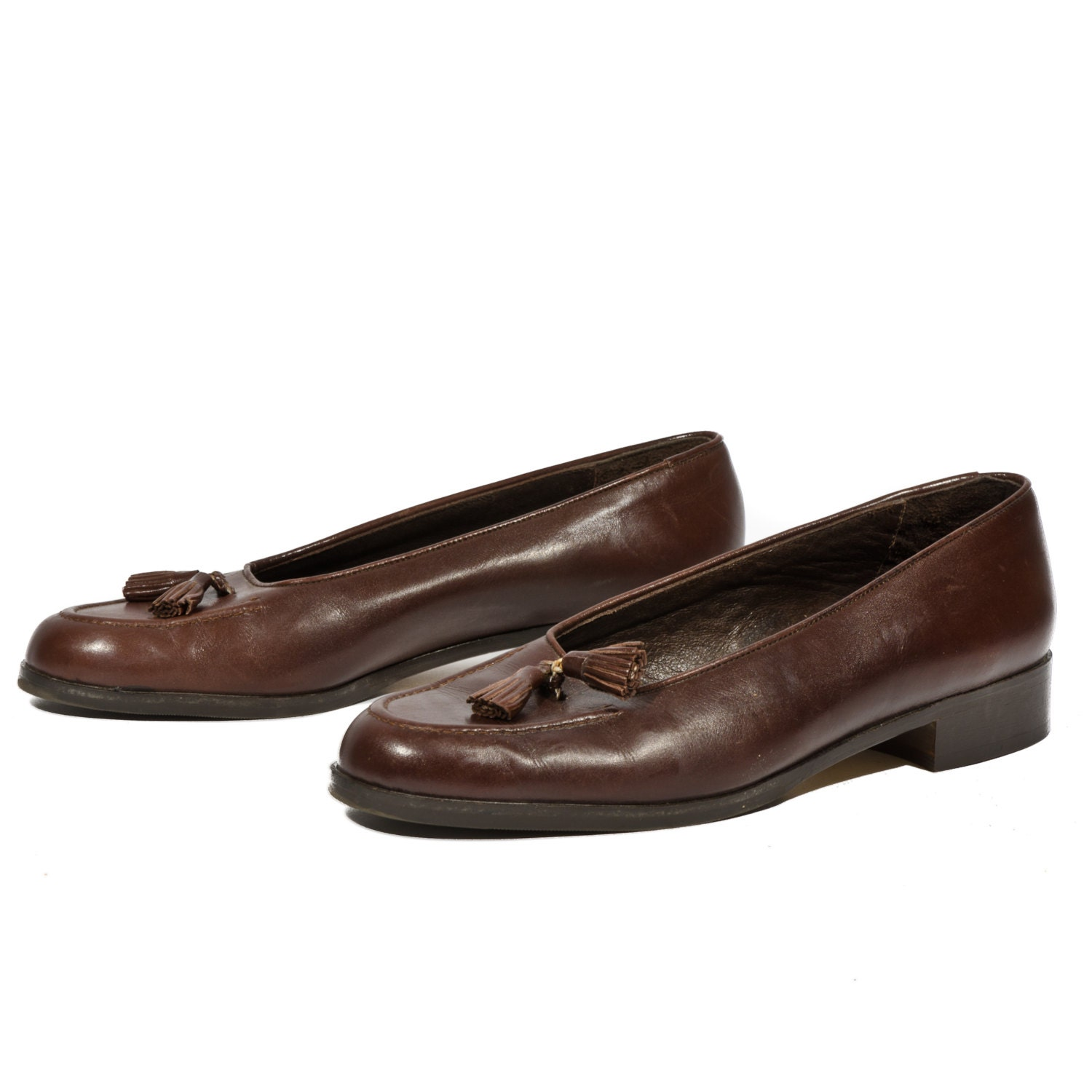 Womens Brown Flats Shoes